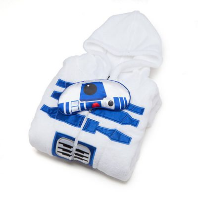 Star Wars R2 D2 Bathrobe Set