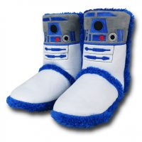 Star Wars R2-D2 Boot Slippers
