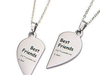 Star Wars R2-D2 & C-3PO Best Friends Necklaces Set