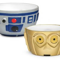 Star Wars R2-D2 & C-3PO Ceramic Bowl Set