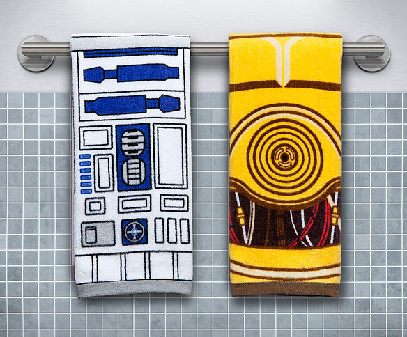 Star Wars R2-D2 & C-3PO Hand Towel Set