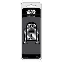 Star Wars R2-D2 Chrome Injection-Molded Emblem