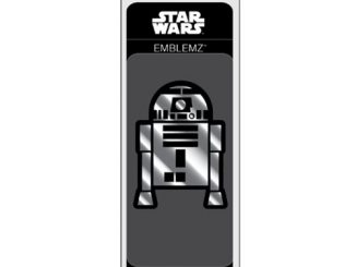 Star Wars R2-D2 Chrome Injection-Molded Emblem