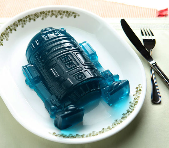 Star Wars R2 D2 Deluxe Silicone Mold