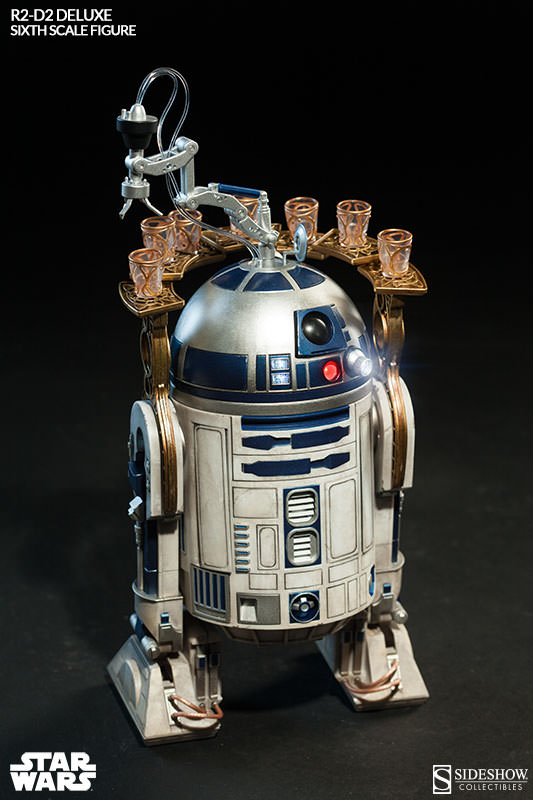 Star Wars R2 D2 Deluxe Sixth Scale Figure