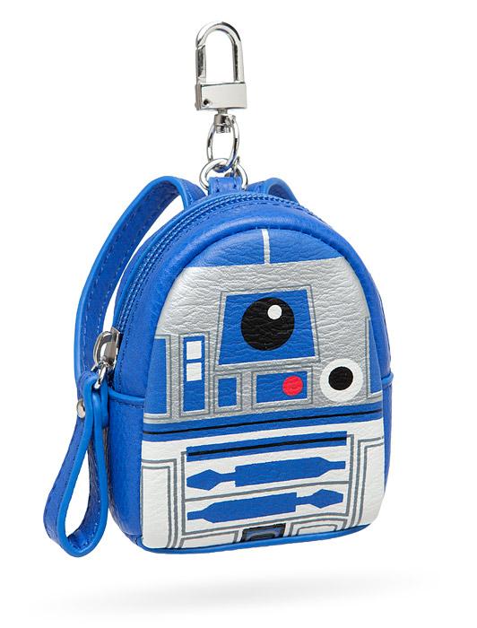 Star Wars R2-D2 Mini Backpack Keychain