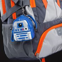 Star Wars R2-D2 Mini Backpack Keychain