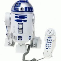 Star Wars R2-D2 Novelty Phone