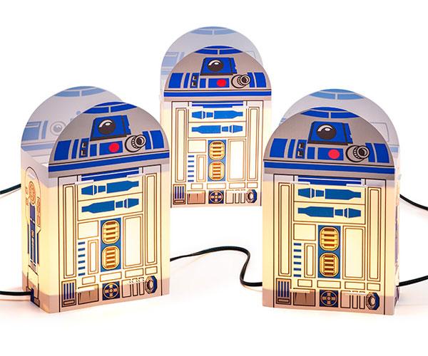 Star Wars R2-D2 Outdoor Lights