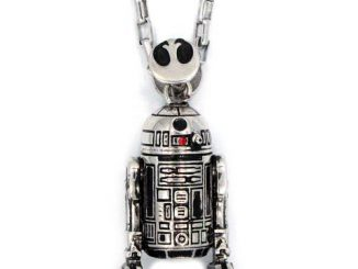 Star Wars R2-D2 Pendant Necklace