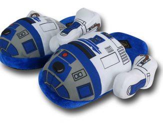 Star Wars R2-D2 Plush Slippers