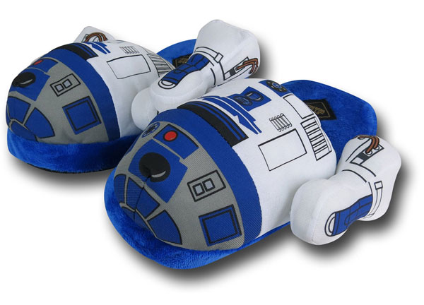 Star Wars R2-D2 Plush Slippers