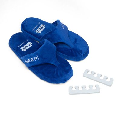Star Wars R2-D2 Spa Set Slippers