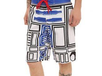 Star Wars R2-D2 Swim Trunks