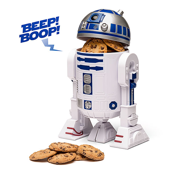 Star Wars R2-D2 Talking Cookie Jar