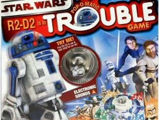 Star Wars R2 D2 Trouble Board Game