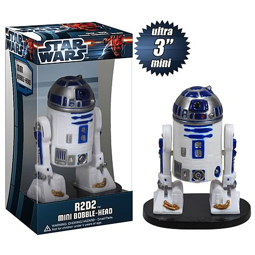 Star Wars R2-D2 Ultra Mini Bobble Head