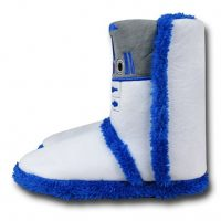 Star Wars R2-D2 Womens Boot Slippers