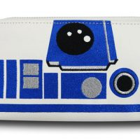 Star Wars R2-D2 Glitter Women's Zip Wallet