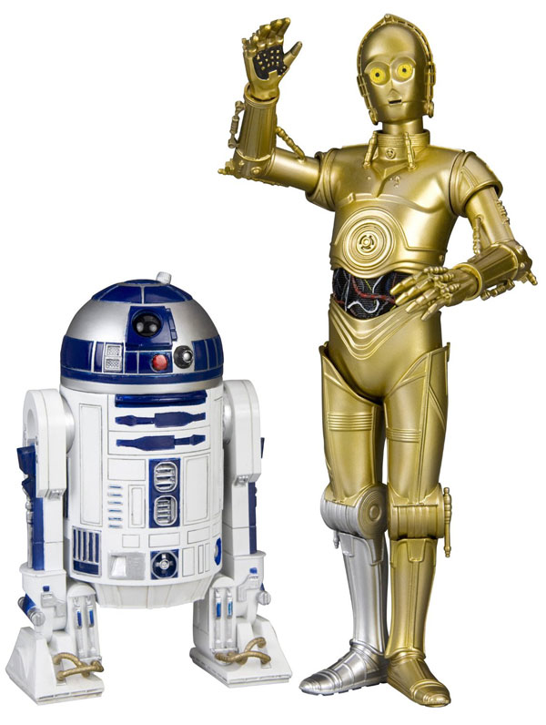 Star Wars R2-D2 and C-3PO ArtFX Statues