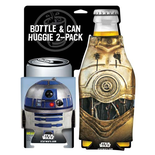 Star Wars R2-D2 and C-3PO Bottle and Can Hugger 2-Pack