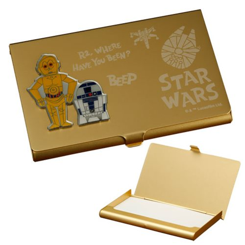 Star Wars R2-D2 and C-3PO Business Card Holder