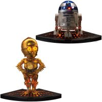 Star Wars R2-D2 and C-3PO Egg Attack Statues 2