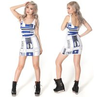 Star Wars R2-D2 fitted dress