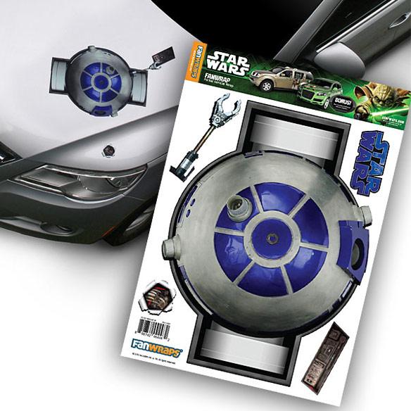 Star Wars R2 Fan Wraps Navigator Vehicle Graphic
