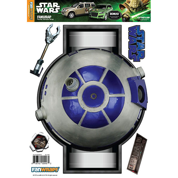 Star Wars R2 Navigator Vehicle Graphic
