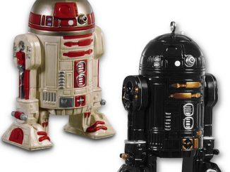 Star Wars R2-Q5 & R2-A3 Ornament