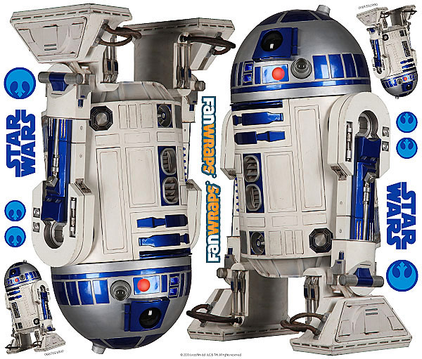 Star Wars R2D2 Car Graphics