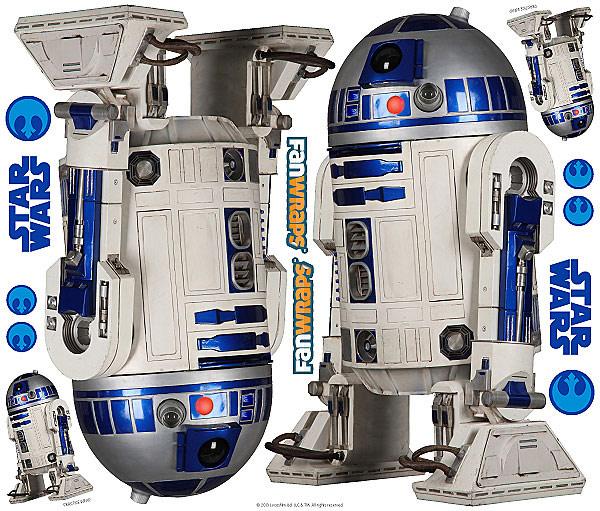 Star Wars R2D2 Car Graphics
