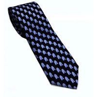 Star Wars R2D2 Pattern Silk Tie