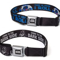 Star Wars R2D2 and Darth Vader Belts
