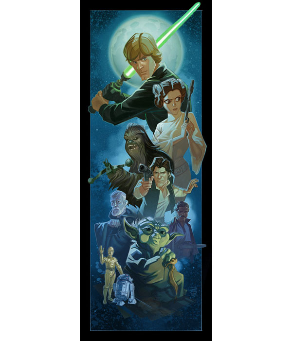 Star Wars Rebel Alliance Canvas Print