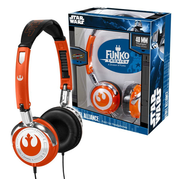 Star Wars Rebel Alliance Fold Up Headphones