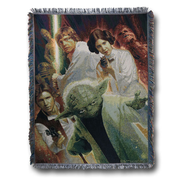 Star Wars Rebel Force Tapestry