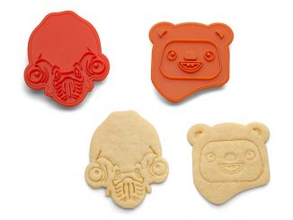 Star Wars Rebel Friends Endor Cookie Cutters - 2 pack