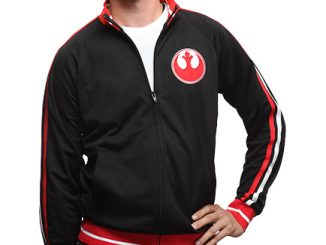 Star Wars Rebel Logo Track Jacket