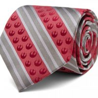 Star Wars Rebel Marsala Stripe Tie