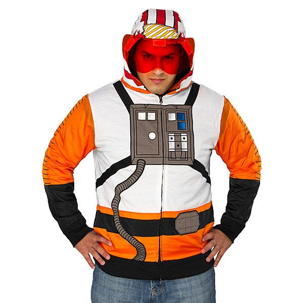 Star Wars Rebel Pilot Costume Hoodie