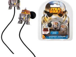 Star Wars Rebels Chopper Ear Bud Headphones