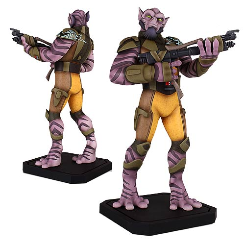 Star Wars Rebels Zeb 1 8 Scale Maquette Statue