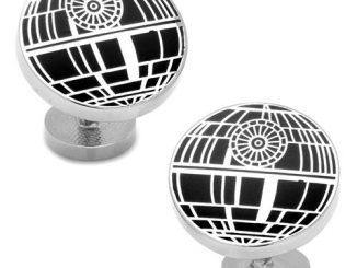 Star Wars Recessed Matte Death Star Cufflinks