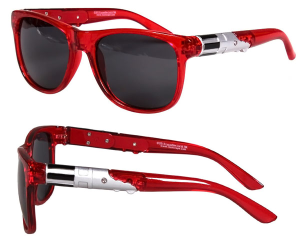 Star Wars Red Light Up Lightsaber Sunglasses
