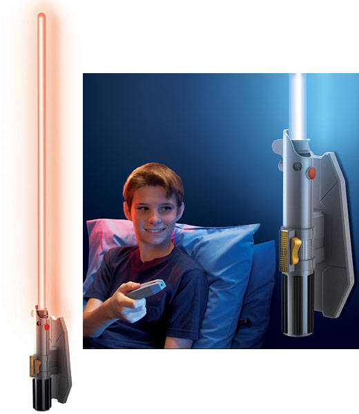 Star Wars Remote Control Lightsaber Room Light