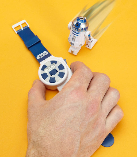 Star Wars Remote Control R2-D2 Whizz Watch