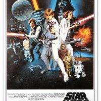 Star Wars Reprinted Original Movie Posters