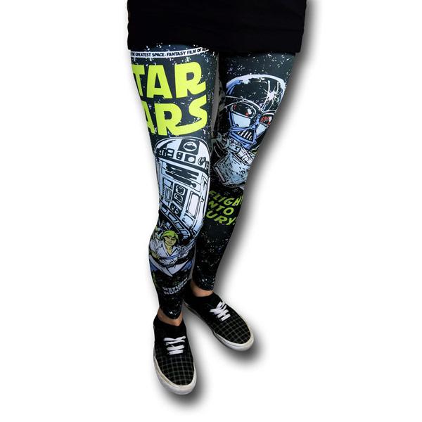 Star Wars Retro Juniors Leggings